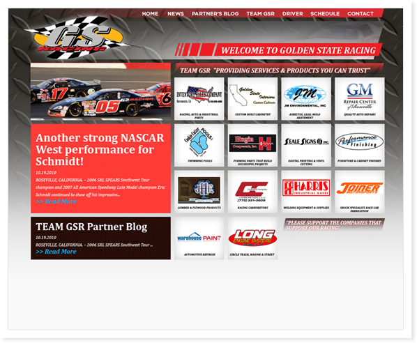 Golden State Racing, Web Site & SEO Roseville, CA